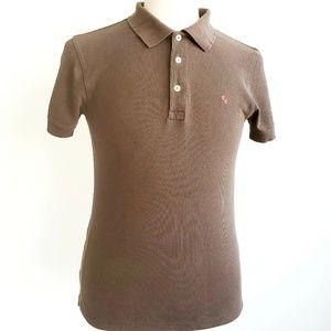 Carolina Herrera Brown  Men's Polo Shirt